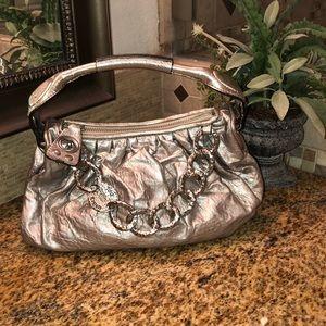 Silver juicy couture purse